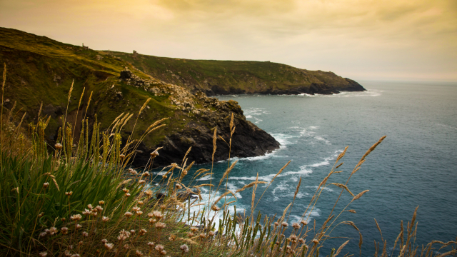 View from Botallack Mine, Cornwall - Credit @FionnDavenport